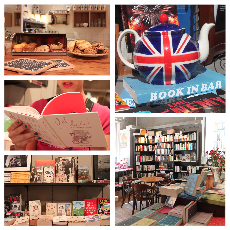 book in a bar libreria caffè provenza aix-en-provence