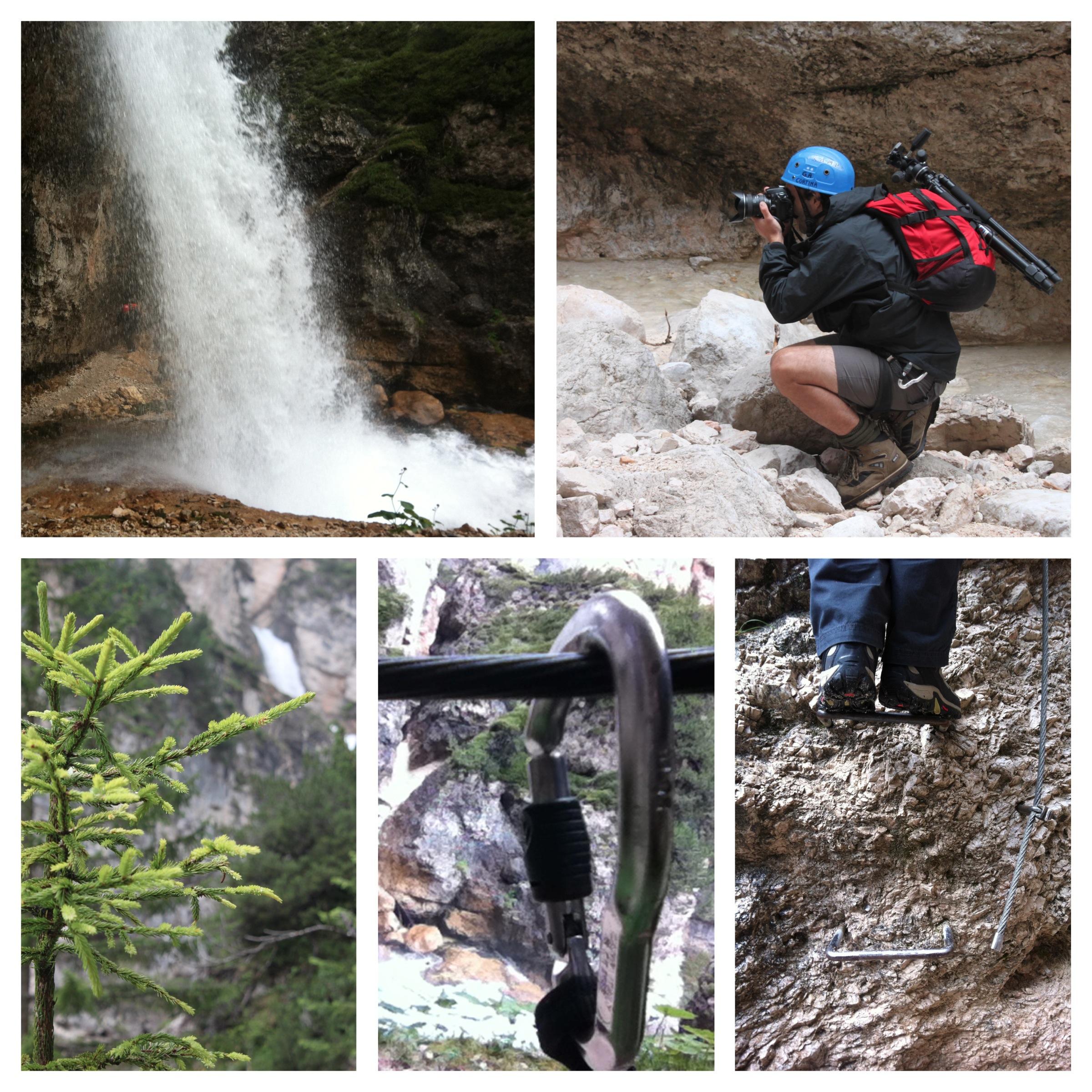 camminata cortina hiking trip cascata dolomiti d'ampezzo