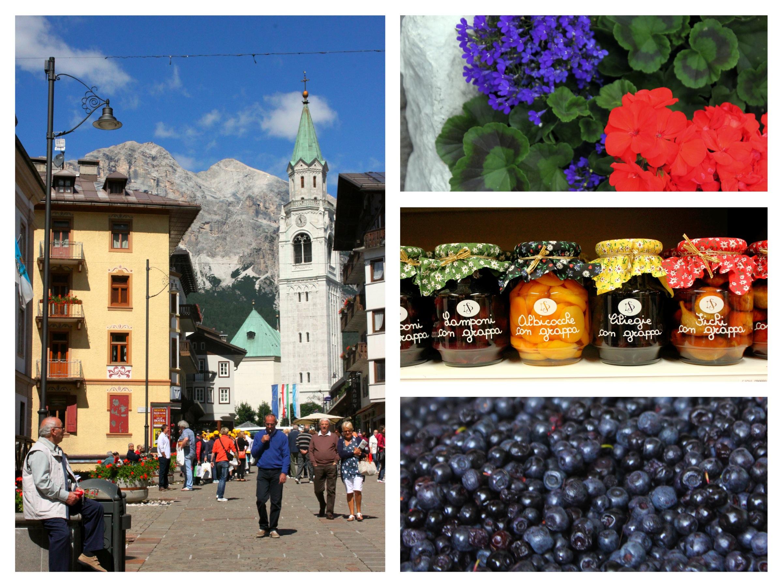 Cortina d'ampezzo grappa mirtilli fiori corso italia cortinatrip