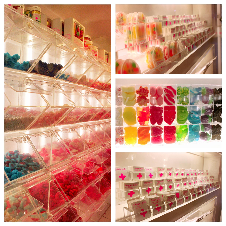 happy pills barcellona caramelle negozio