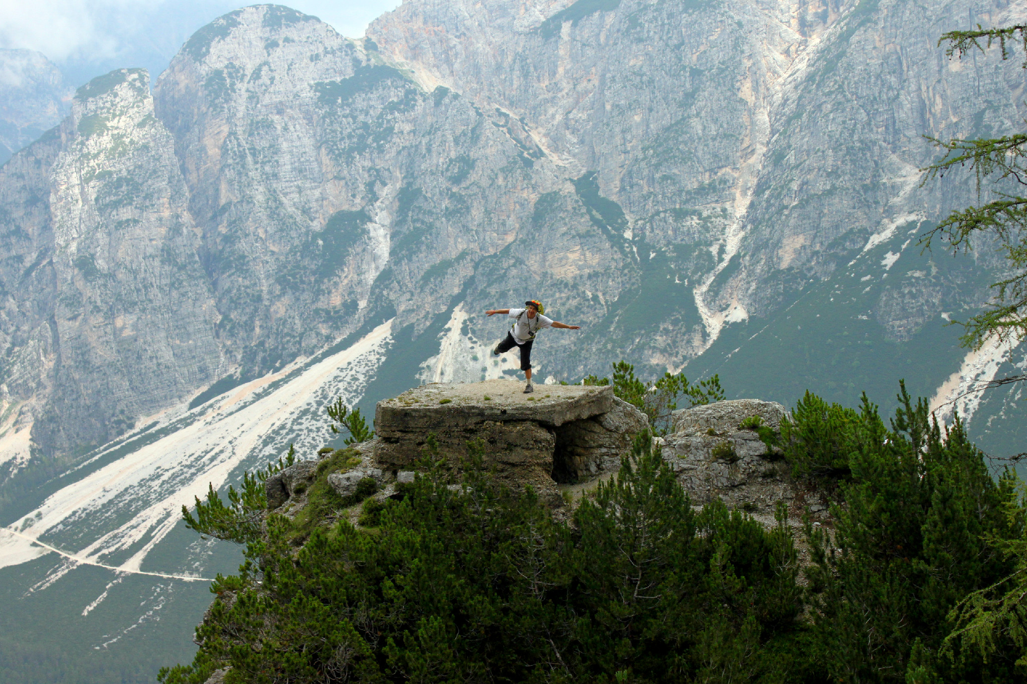 Paolo Mezzora Tassi guida alpina cortina hiking trip dolomiti d'ampezzo