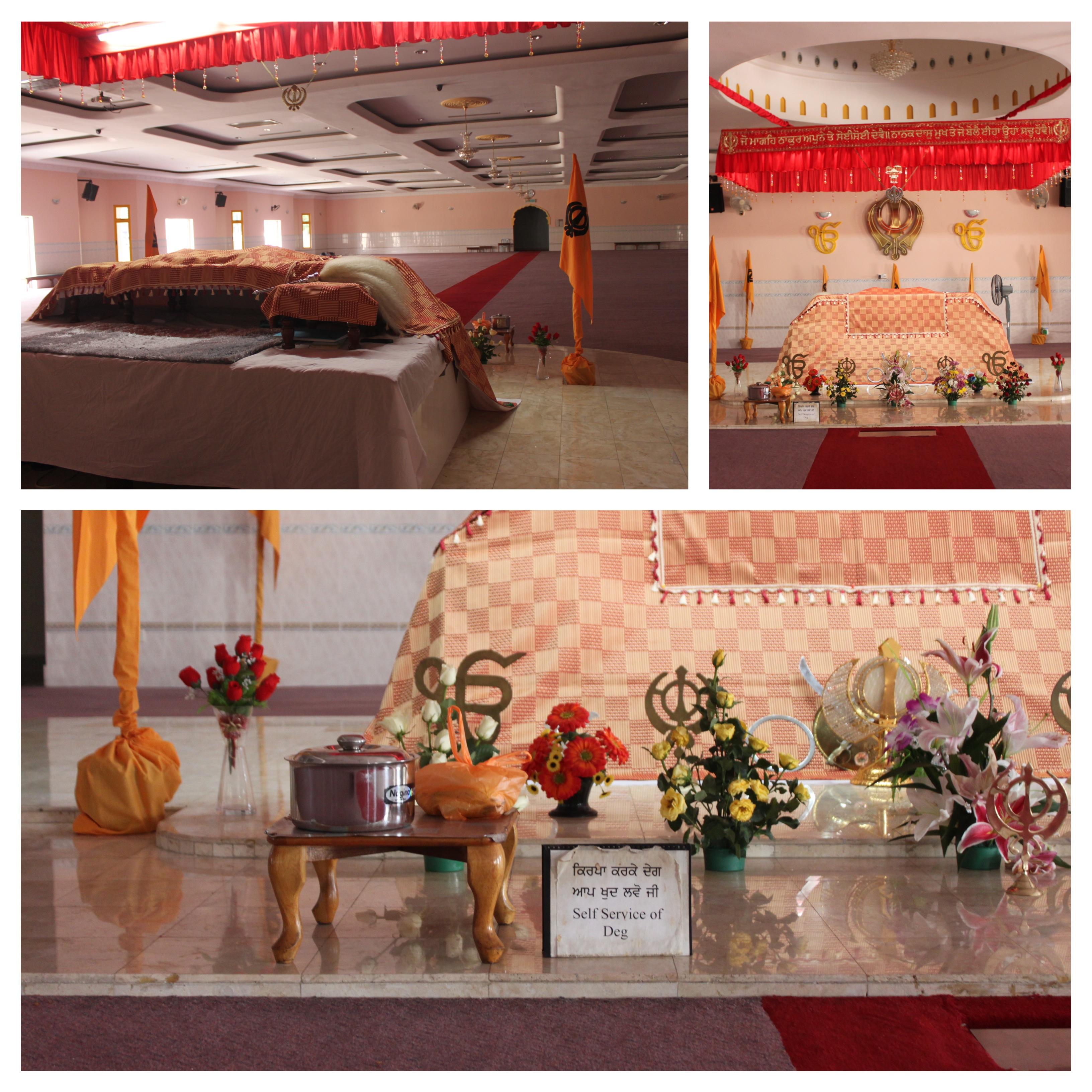 deg al tempio sikh, kuala lumpur, malesia