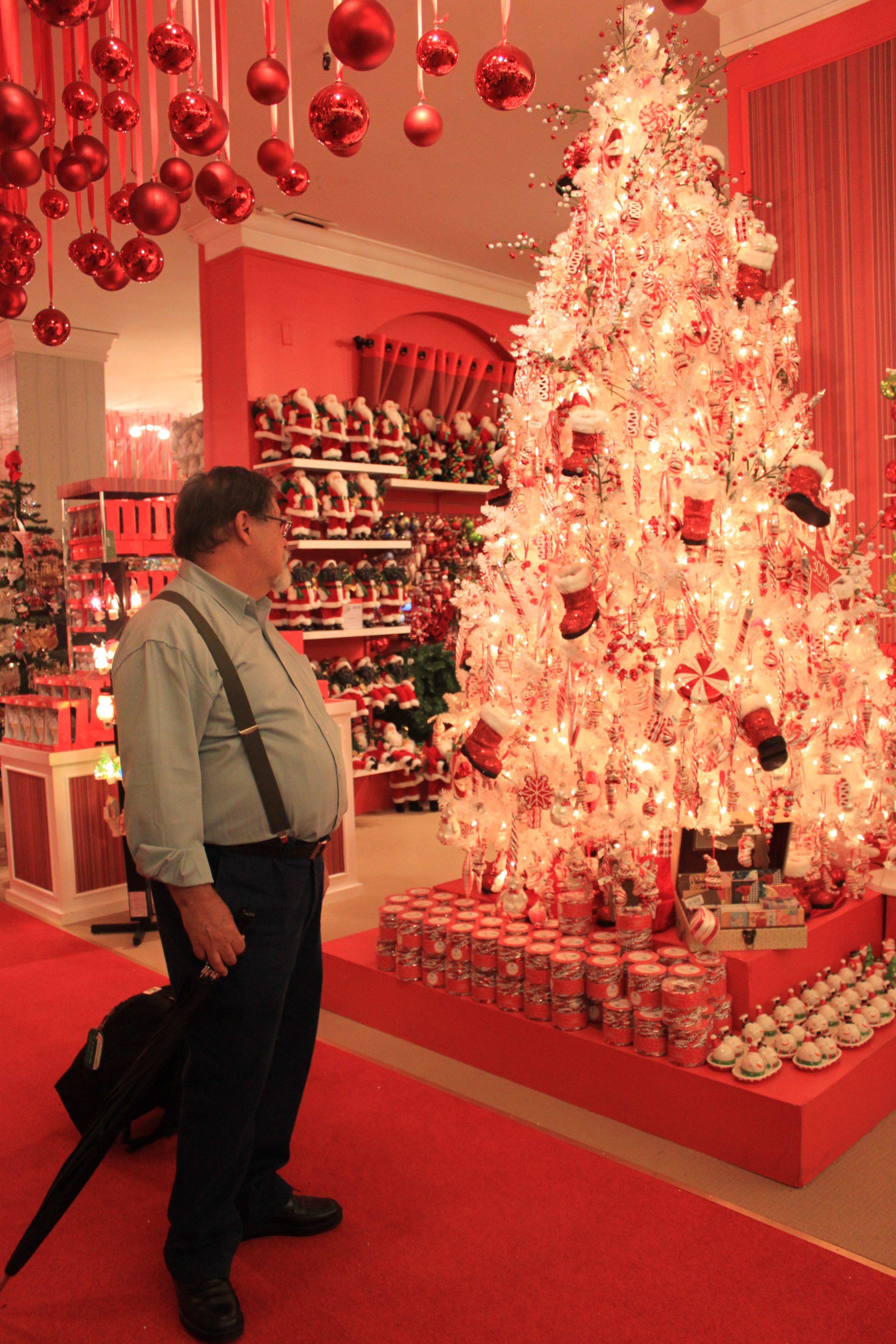 Babbo Natale in incognito da Macy's, New York