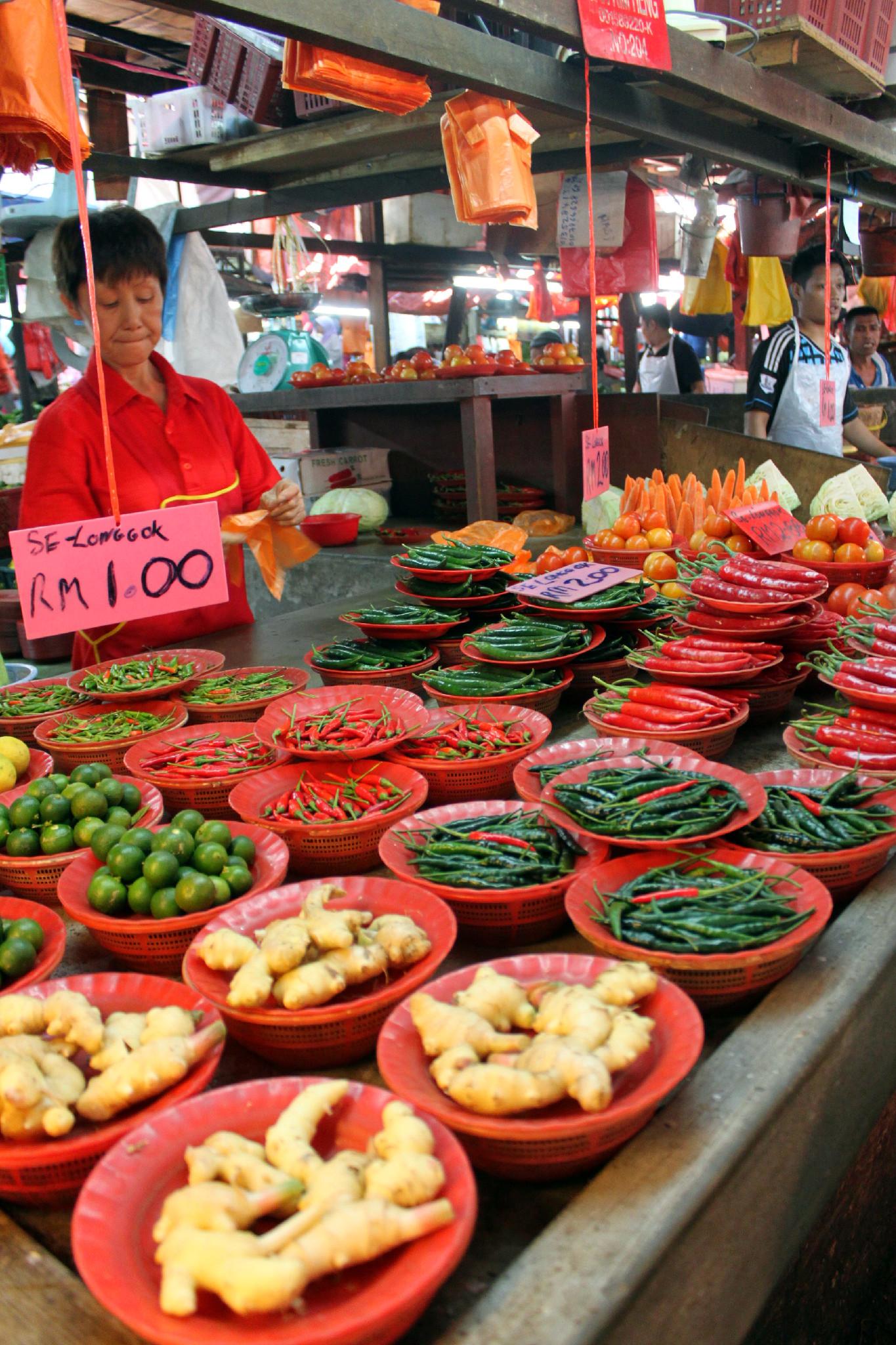chow kit market - kuala lumpur 5