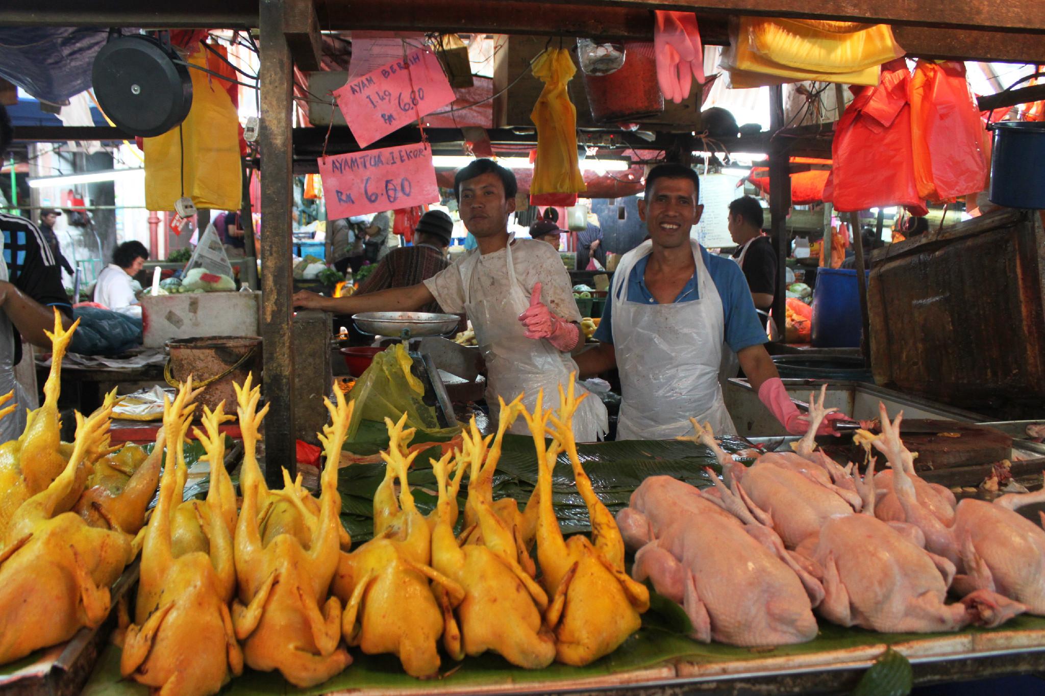 chow kit market - kuala lumpur 6
