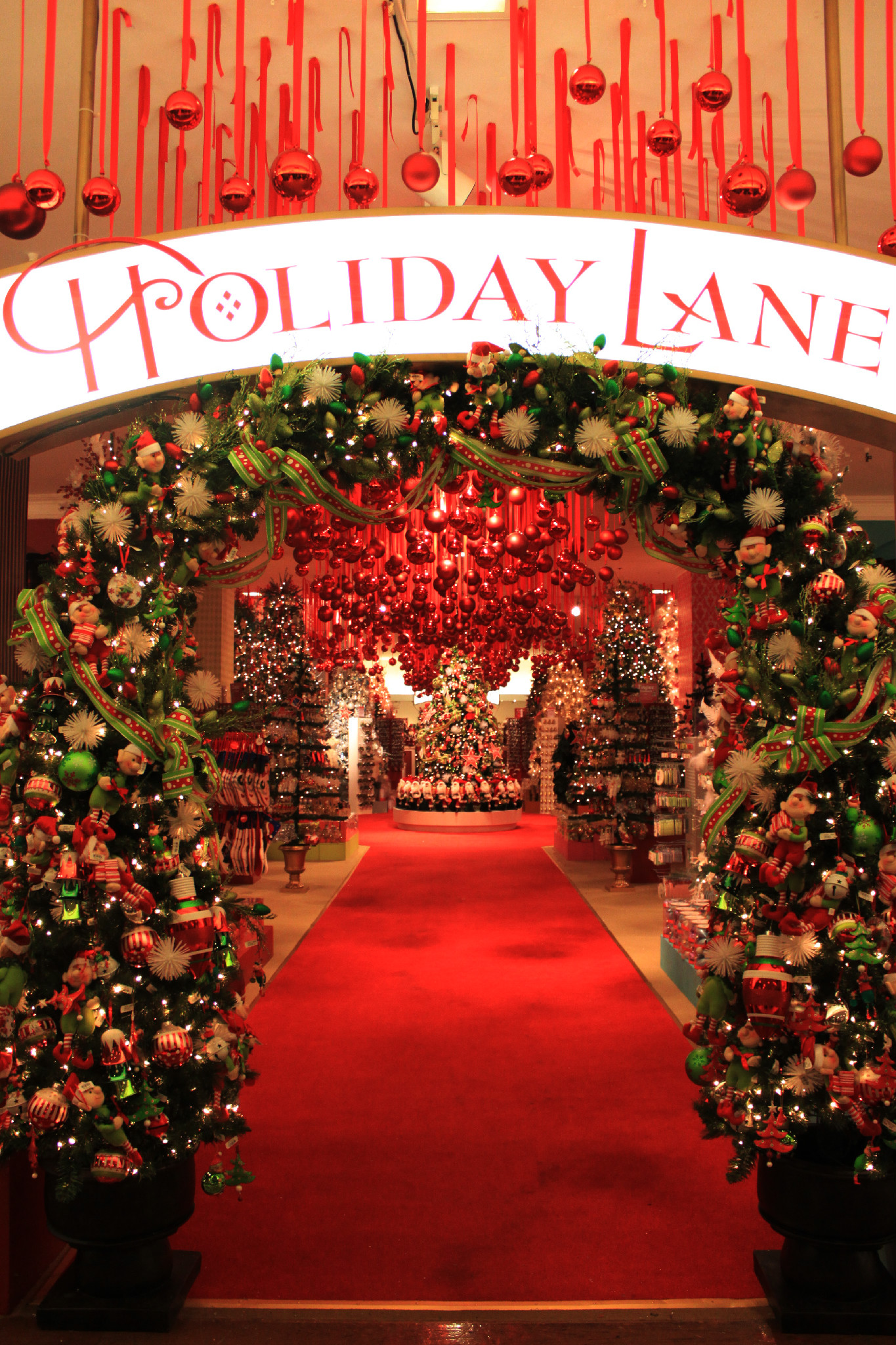 Natale a New York, Holday Lane, Macy's